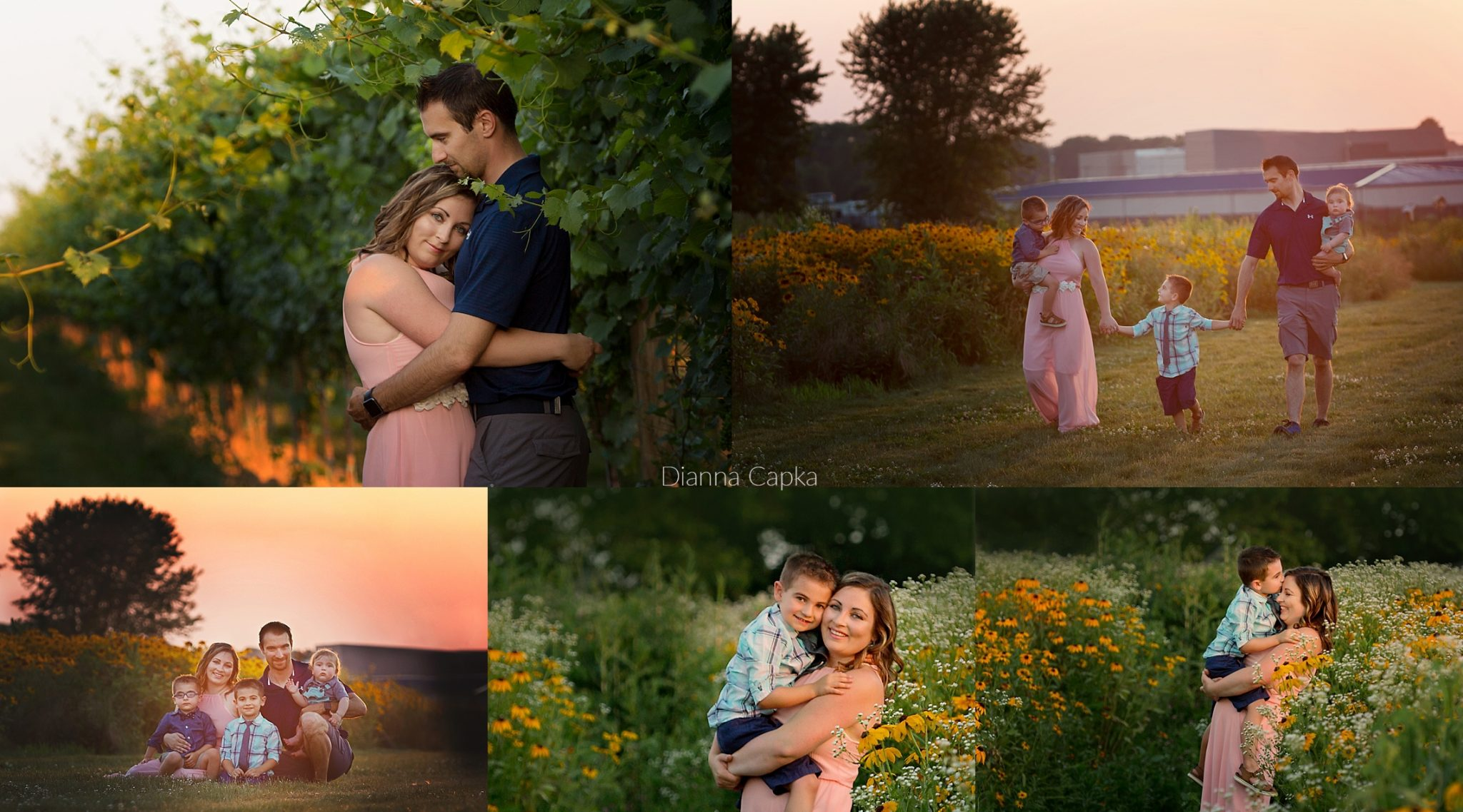 Lititz flower field Photographer Family Photo Swap
