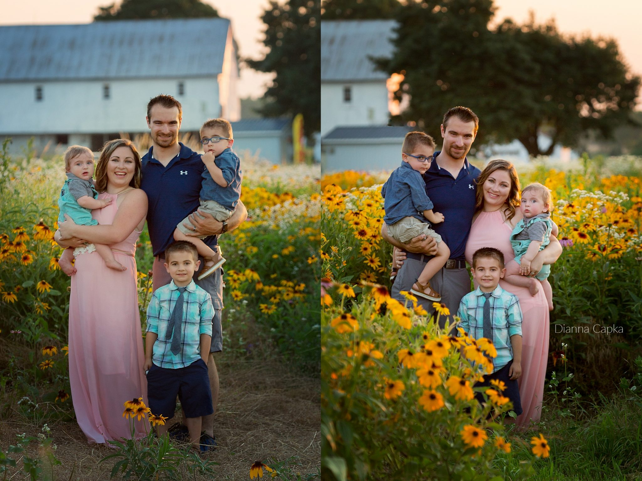Lititz Flowerfield Lancaster flowerfield Photographer Family Photo Swap