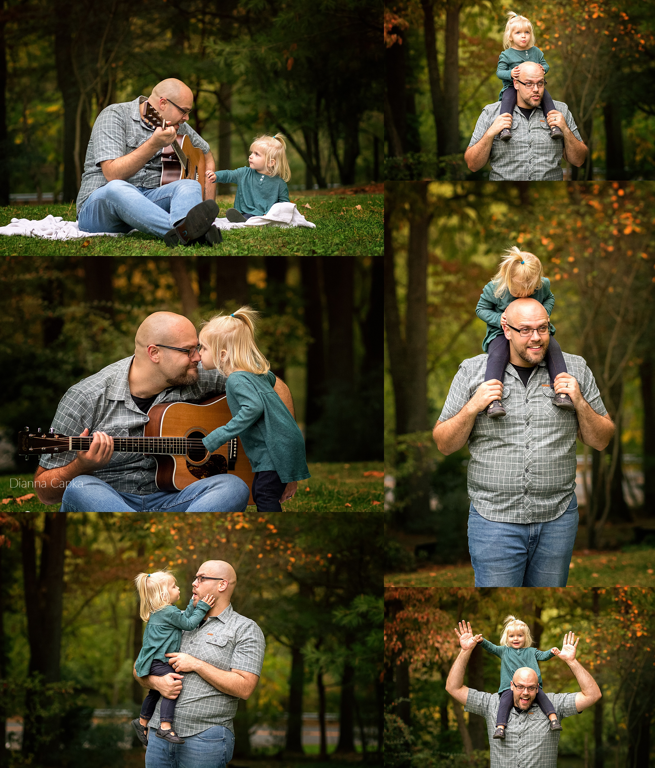 Daddy and me Ellie is two Lancaster family photographer