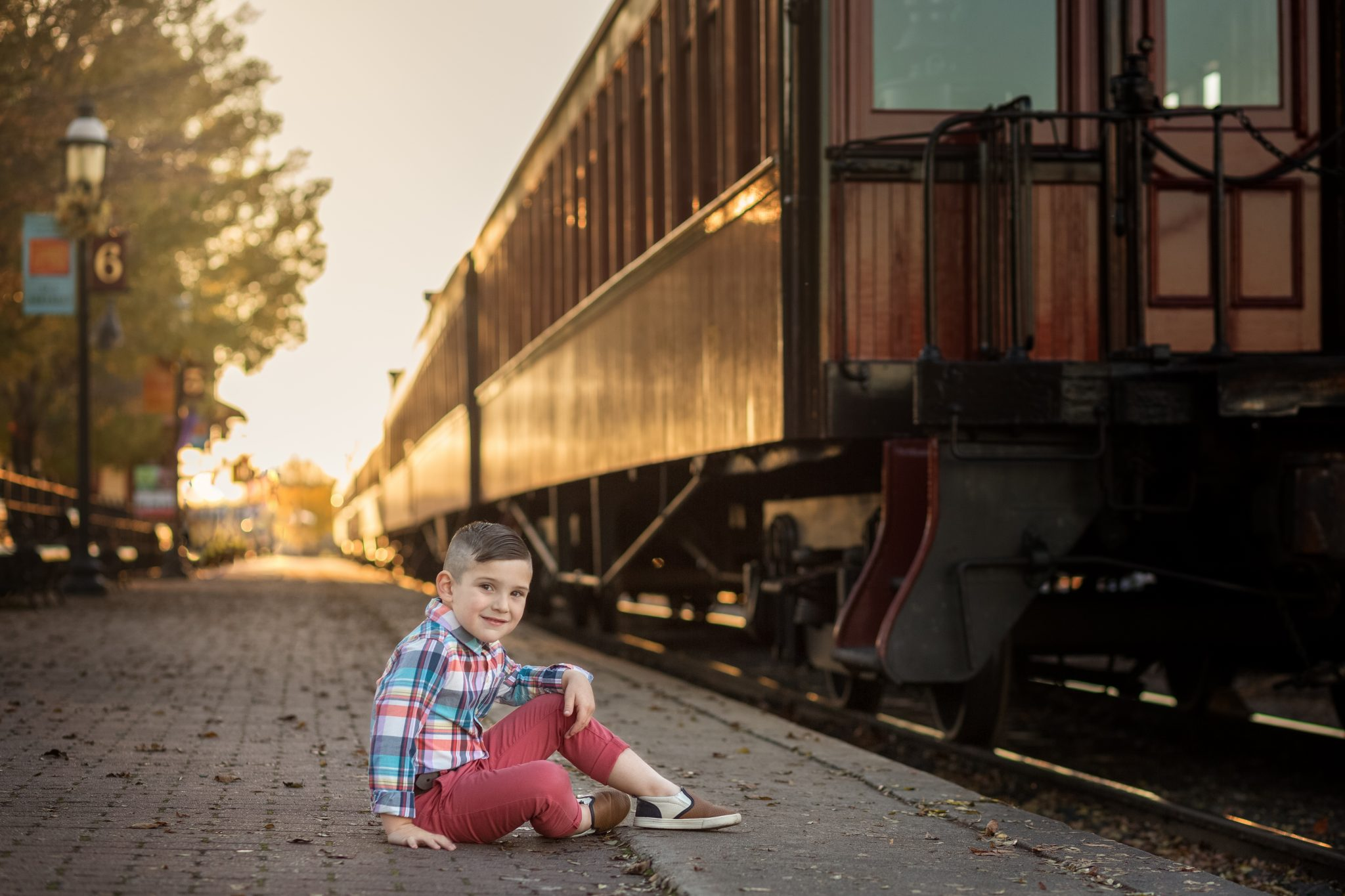 lancaster children photographer strasburg railroad