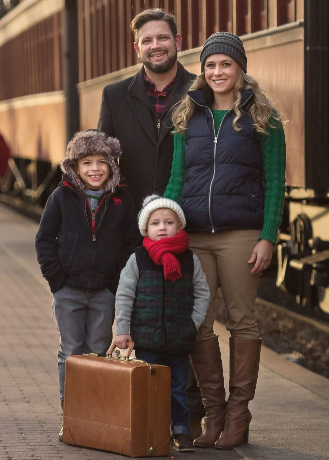 lancaster family photographer strasburg railroad
