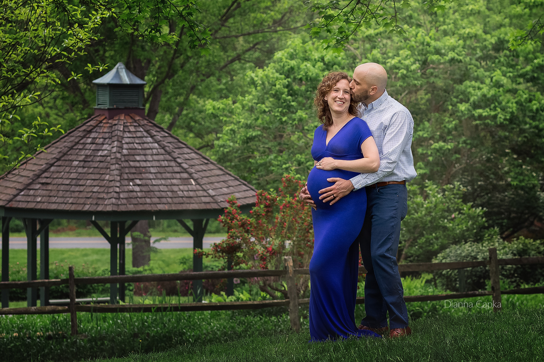 Family maternity session Lancaster County PA Maternity Gown