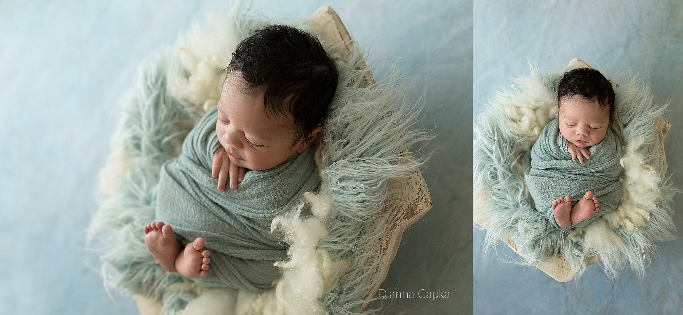 Lancaster PA Newborn petite Wrapped session