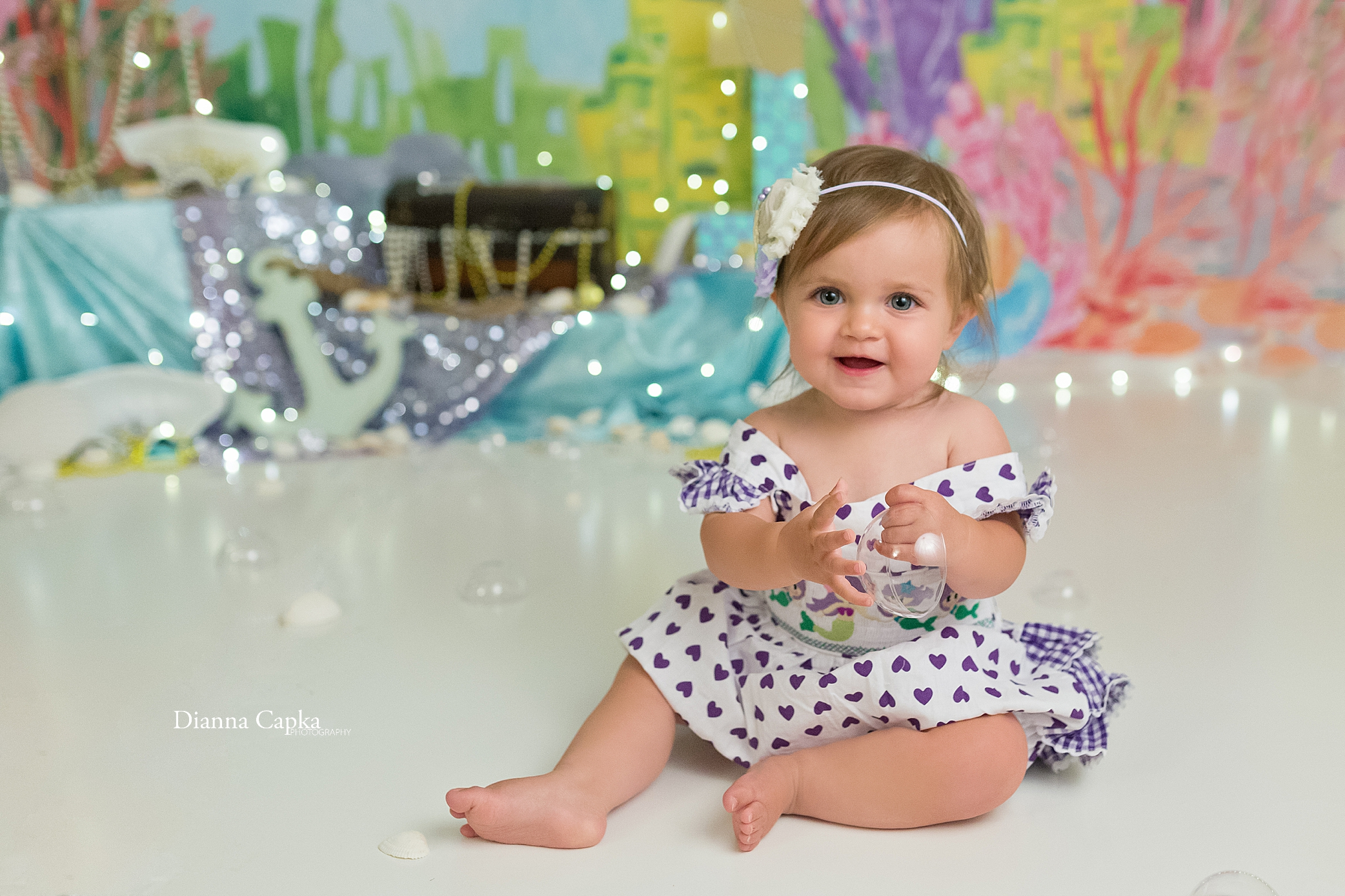 Lancaster one year portrait photographer
